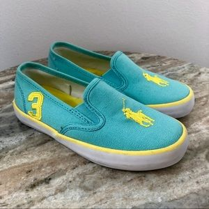 Polo by Ralph Lauren Kids Shoes size 11 blue